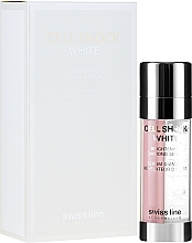 Parfumuri și produse cosmetice Ser facial - Swiss Line Cell Shock White Brightening Diamond Serum