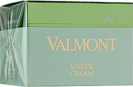 Parfumuri și produse cosmetice Cremă anti-îmbătrânire pentru gât - Valmont V-Neck Cream