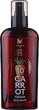 Parfumuri și produse cosmetice Ulei pentru bronz - Mediterraneo Sun Carrot Suntan Oil Dark Tanning SPF 10