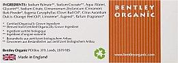 "Săpun ""Revigorant"" - Bentley Organic Body Care Revitalising Soap Bar — Imagine N3"