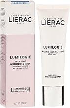 Parfumuri și produse cosmetice Mască cu efect iluminant pentru față - Lierac Lumilogie Even-Tone Brightening Mask