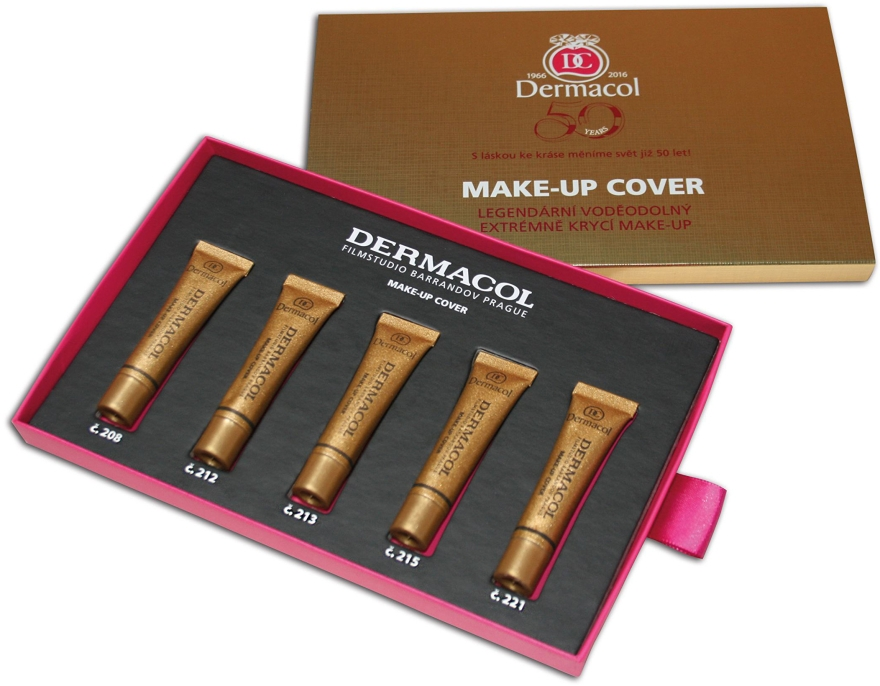 Set - Dermacol Make-Up Cover (found/5x5g) — Imagine N2