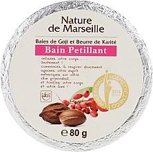 Parfumuri și produse cosmetice Bombă de baie cu aromă de boabe de goji și unt de shea - Nature de Marseille Goji&Shea Butter