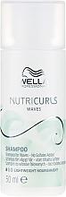Parfumuri și produse cosmetice Șampon fără sulfat pentru părul creț - Wella Professionals Nutricurls Waves Shampoo (mini)