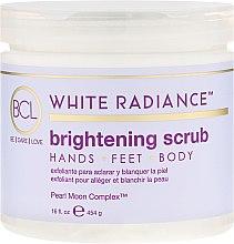 Parfumuri și produse cosmetice Scrub pentru corp - BCL SPA White Radiance Brightening Scrub