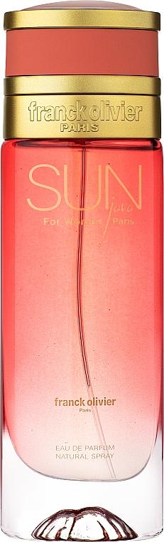 Franck Olivier Sun Java for Women - Apă de parfum — Imagine N1