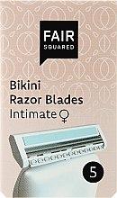 Parfumuri și produse cosmetice Casete de rezervă pentru aparat de ras - Fair Squared Bikini Razor Blades