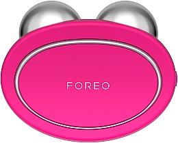 Parfumuri și produse cosmetice Dispozitiv pentru masaj și întărirea tenului, fuchsia - Foreo Bear Fuchsia
