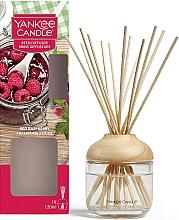 "Parfumuri și produse cosmetice Difuzor aromatic ""Zmeură roșie"" - Yankee Candle Reed Diffuser Red Raspberry"