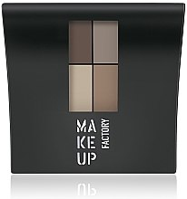 Parfumuri și produse cosmetice Fard mat de ochi - Make Up Factory Mat Eye Colors