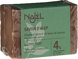 Parfumuri și produse cosmetice Săpun - Najel 4% Aleppo Soap