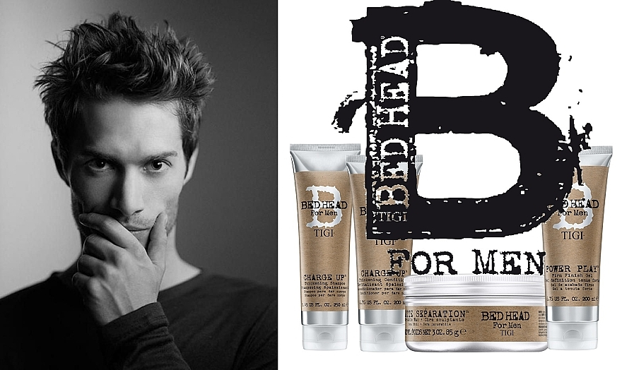 Ceară moale pentru aranjarea părului - Tigi B For Men Matte Separation Workable Wax  — Imagine N4