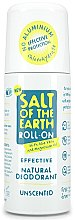 Parfumuri și produse cosmetice Deodorant roll-on - Salt of the Earth Effective Unsented Roll-On Deo