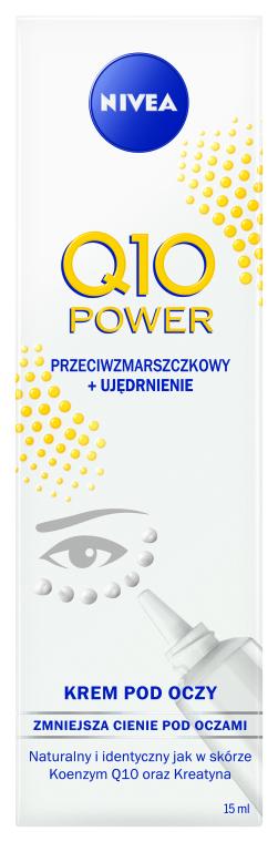 Cremă antirid pentru conturul ochilor - Nivea Visage Anti Wrinkle Q10 Plus Eye Cream — Imagine N3
