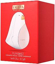 Parfumuri și produse cosmetice Paletă de machiaj pentru buze și ochi - Pupa Bird 2
