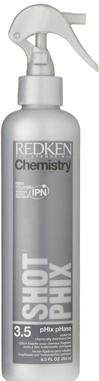 Loțiune pentru păr deteriorat - Redken Chemistry Volume Shot Phase — Imagine N1