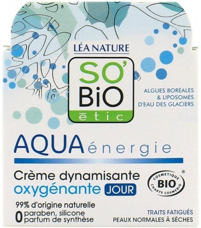 Cremă de față - So'Bio Etic Aqua Energie Dynamizing Oxygenating Day Cream — Imagine N1