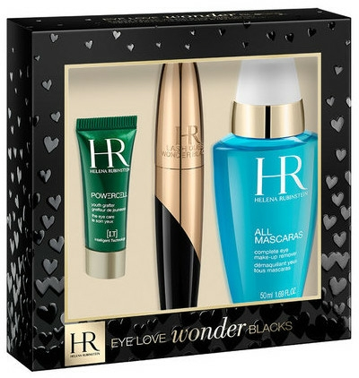 Set - Helena Rubinstein Eye Love Wonder Blacks Set (mascara/7ml eye/ser/3ml + eye/lot/50ml)