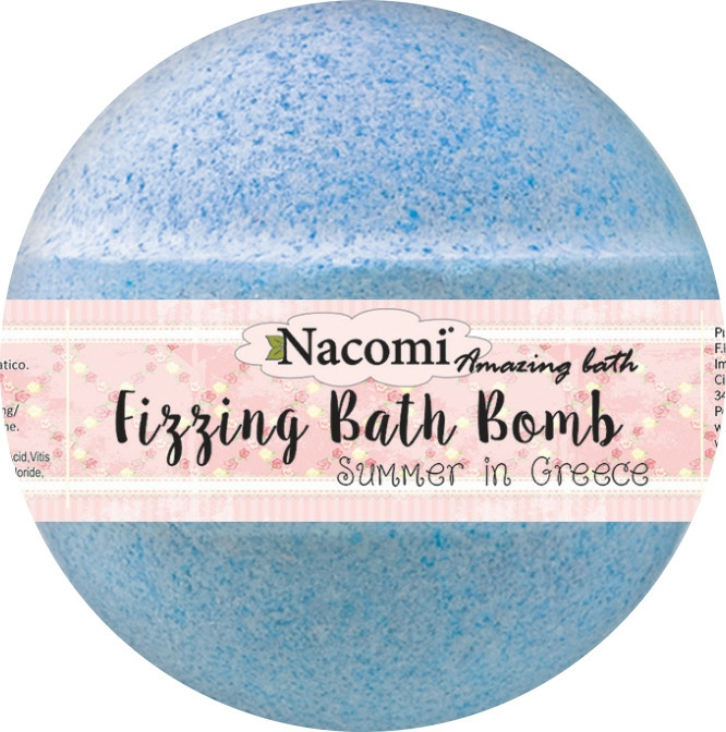Bilă efervescentă pentru baie - Nacomi Fizzing Bath Bomb Summer in Greece — Imagine N3