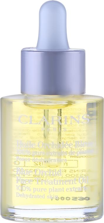 Ulei de față pentru piele deshidratată - Clarins Blue Orchid Face Treatment Oil — Imagine N2