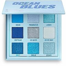 Parfumuri și produse cosmetice Paletă farduri de pleoape - Makeup Obsession Ocean Blues Eyeshadow Palette