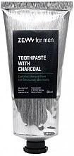 Parfumuri și produse cosmetice Pastă cu cărbune pentru dinți - Zew For Men Toothpaste With Charcoal