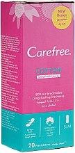 Parfumuri și produse cosmetice Absorbante pentru uz zilnic, 20 buc. - Carefree Cotton Unscented Pantyliners