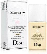 Parfumuri și produse cosmetice Bază de machiaj, cu efect de strălucire - Dior Brightening Makeup Base Colour Correction SPF35 PA+++