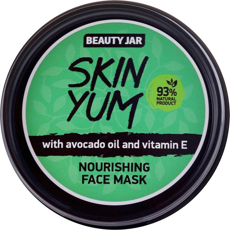 Mască nutritivă pentru față - Beauty Jar Skin Yum Nourishing Face Mask
