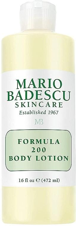 "Loțiune de corp ""Formula 200"" - Mario Badescu Formula ""200"" Body Lotion — Imagine N2"
