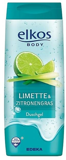 "Gel de duș ""Lime și Lemongrass"" - Elkos Lime & Lemongrass Shower Gel"