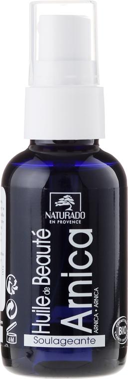 Ulei pentru față cu flori de arnică - Naturado Arnica Oil — Imagine N1