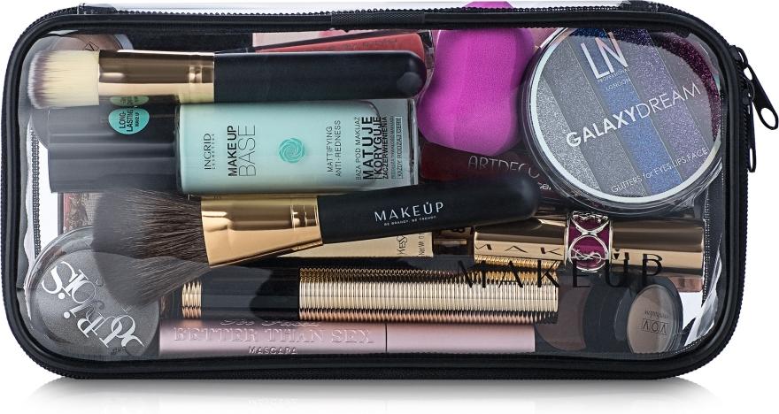 """Trusă cosmetică incoloră """"Visible Bag"""" 25x12x8 cm (fără produse) - MakeUp"""
