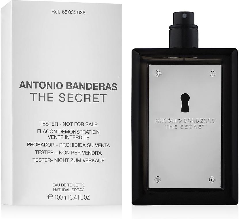 Antonio Banderas The Secret - Apă de toaletă (tester fără capac) — Imagine N4