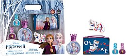 Parfumuri și produse cosmetice Disney Frozen II - Set (edt/50ml + nail/polish/2x5ml + bag)