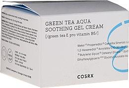 Parfumuri și produse cosmetice Gel-cremă calmantă pentru față - Cosrx Hydrium Green Tea Aqua Soothing Gel Cream
