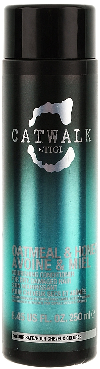 Balsam revitalizant pentru păr - Tigi Catwalk Oatmeal & Honey Conditioner