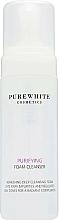 Parfumuri și produse cosmetice Spumă de curățare pentru față - Pure White Cosmetics Purifying Foam Cleanser