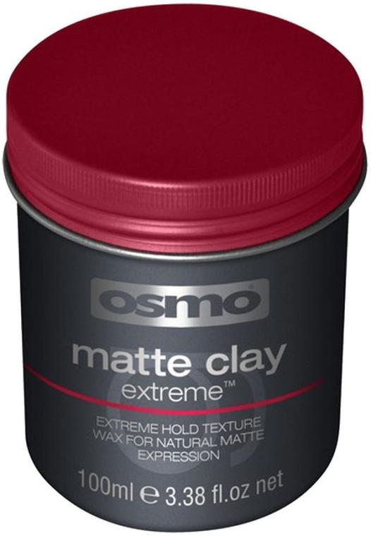 Ceară- argilă pentru păr, fixare extra puternică - Osmo Matte Clay Extreme
