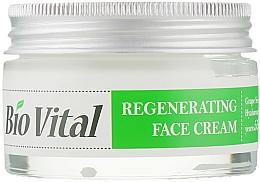 Parfumuri și produse cosmetice Cremă regenerantă pentru față - DeBa Bio Vital Regenerating Face Cream