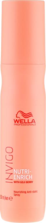 Spray de păr - Wella Professionals Invigo Nutri-Enrich Nourishing Antistatic Spray