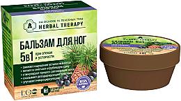 Parfumuri și produse cosmetice Balsam 5 în 1 pentru picioare, pentru umflare și oboseală - ECO Laboratorie Herbal Therapy
