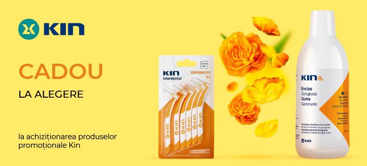 La achiziționarea produselor promoționale Kin, primiți un cadou la alegere