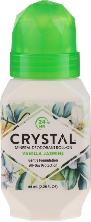 """Deodorant roll-on """"Vanilie și Jasmine"""" - Crystal Essence Deodorant Roll-On Vanila Jasmine"""