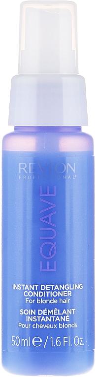 Balsam pentru părul blond cu keratină - Revlon Professional Equave 2 Phase Blonde Detangling Conditioner — Imagine N7