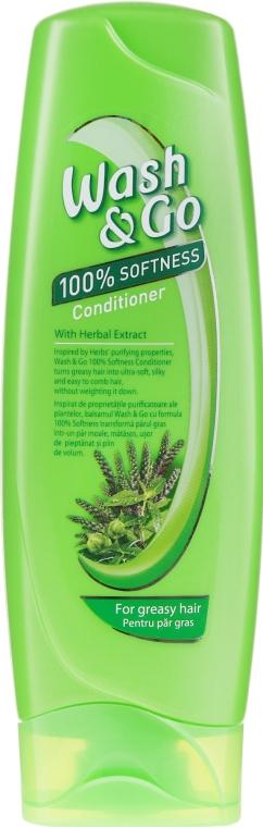 Balsam cu extracte de plante pentru păr gras - Wash&Go