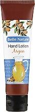 Parfumuri și produse cosmetice Balsam- cremă de mâini, cu aromă de argan - Belle Nature Hand Lotion Argan