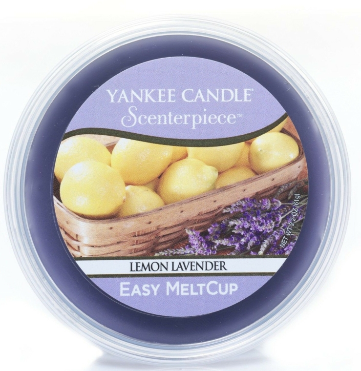 Ceară aromată - Yankee Candle Lemon Lavender Melt Cup — Imagine N1