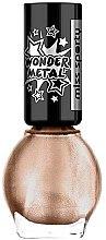 Parfumuri și produse cosmetice Lac de unghii - Miss Sporty Wonder Metal