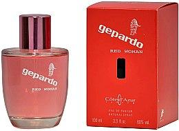 Parfumuri și produse cosmetice Cote d`Azur Gepardo Red Women - Apă de parfum